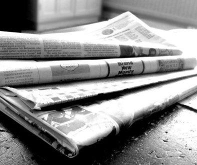 Optimise Media Coverage blog newspaper image